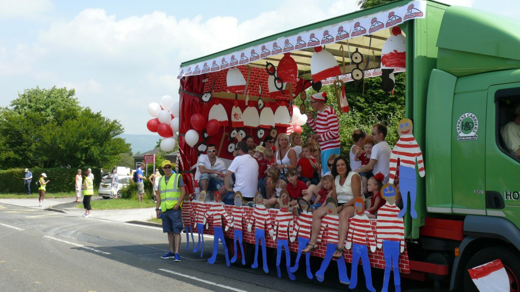 Charlesworth and Chisworth Carnival Where's Wally? Float